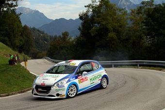 Simone Niboli, Battista Brunetti (Peugeot 208 R2B #50, Mirabella M. Miglia), CAMPIONATO ITALIANO WRC