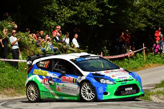 Gianluigi Niboli, Giuseppe Peli (Ford Fiesta WRC #9, Bs Sport Ssd), CAMPIONATO ITALIANO WRC