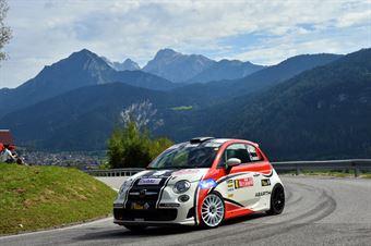 Marco Parola, Nicola Argenta (Fiat 500 Abarth R3T #41), CAMPIONATO ITALIANO WRC