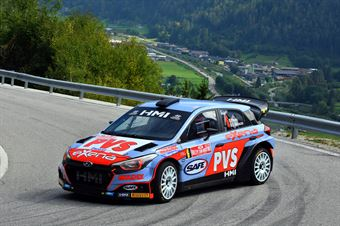 Pedro, Emanuele Baldaccini (Hyundai i20 WRC #6, Daytona Race), CAMPIONATO ITALIANO WRC