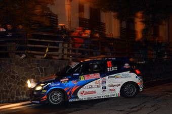 Roberto Pelle, Roberto Riva (Suzuki Swift R1 #85, Destra 4), CAMPIONATO ITALIANO WRC