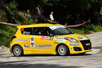 Corrado Peloso, Massimo Filippo Iguera (Suzuki Swift R1 #84,La Superba Ssdrl), CAMPIONATO ITALIANO WRC