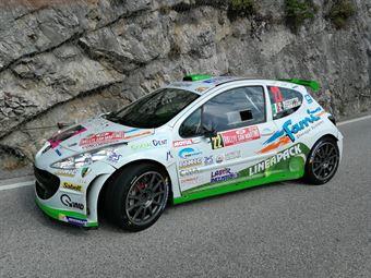 Bizzotto Tommasini (Peugeot 207 S2000 #22), CAMPIONATO ITALIANO WRC