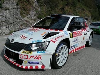 Erbetta Magrin (Skoda Fabia R5 #16), CAMPIONATO ITALIANO WRC