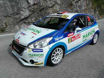 S.Niboli Brunetti (Peugeot 208 VTI R2B #50), CAMPIONATO ITALIANO WRC
