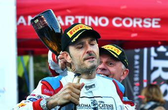 Podio San Martino di Castrozza , CAMPIONATO ITALIANO WRC