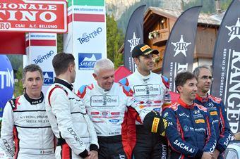 Podio San Martino di Castrozza, CAMPIONATO ITALIANO WRC