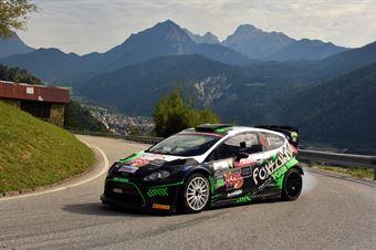 Paolo Porro, Paolo Cargnelutti (Ford Fiesta WRC #4, Bluthunder), CAMPIONATO ITALIANO WRC