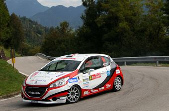 Gianluca Saresera, Daniel Taufer (Peugeot 208 R2 #44, Leonessa Corse) , CAMPIONATO ITALIANO WRC