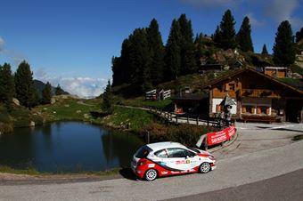 Gianluca Saresera, Daniel Taufer (Peugeot 208 R2 #44, Leonessa Corse), CAMPIONATO ITALIANO WRC