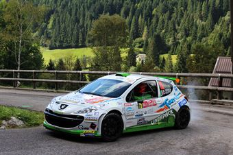 Mauro Trentin, Michele Coletti (Peugeot 207 S2000 #25, Power Car Team), CAMPIONATO ITALIANO WRC