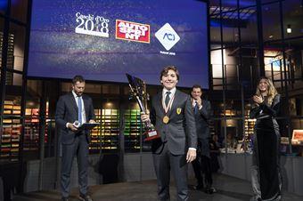 Premiazioni Volanti ACI e Caschi d'Oro 2018   Enzo Fittipaldi Vincitore F4, ITALIAN F.4 CHAMPIONSHIP POWERED BY ABARTH