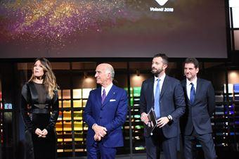 Premiazioni Volanti ACI e Caschi d'Oro 2018   Angelo Sticchi Damiani e Andrea Cordovani, ITALIAN F.4 CHAMPIONSHIP POWERED BY ABARTH