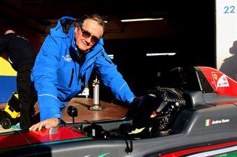 Andrea Rosso (Tatuus F.4 T014 Abarth)   Gian Carlo Minardi,