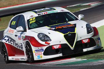 Gianluca Carboni (Best Lap,Wolf GB08 Thunder Aprilia RSV4 #5) , TCR ITALY TOURING CAR CHAMPIONSHIP