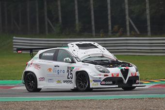 Adriano Bernazzani (Sport&Comunicazione,Alfa Romeo Giulietta TCR #25) , TCR ITALY TOURING CAR CHAMPIONSHIP