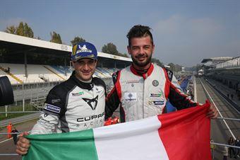 Salvatore Tavano (Cupra Leon TCR SEQ #4), Luigi Ferrara (42 Racing SA, Alfa Romeo Giulietta TCR #42) , TCR ITALY TOURING CAR CHAMPIONSHIP