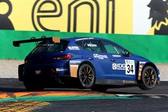 Matteo Greco ( Cupra Leon TCR SEQ #34) , TCR ITALY TOURING CAR CHAMPIONSHIP
