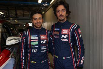 Federico Paolino (BRC Racing Team,Hyundai i30 N TCR #10), Eric Scalvini (BRC Racing Team,Hyundai i30 N TCR #19) , TCR ITALY TOURING CAR CHAMPIONSHIP