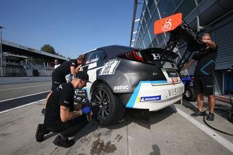 Jurgen Schmarl (Target Srl,Honda Civic TCR #11) , TCR ITALY TOURING CAR CHAMPIONSHIP
