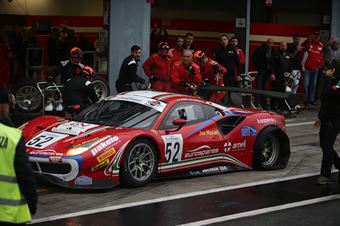 Fuoco Hudspeth (AF Corse,Ferrari 488 GT3 GT3 PRO AM #52), CAMPIONATO ITALIANO GRAN TURISMO