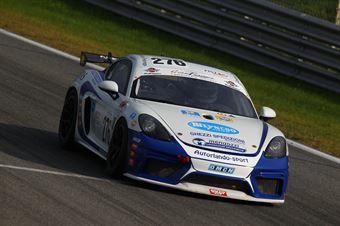 Ghezzi Camathias (Autorlando Sport,Porsche 718 Cayman GT4 #276), CAMPIONATO ITALIANO GRAN TURISMO