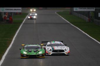 Postiglione Mul (Imperiale Racing,Lamborghini Huracan GT3 Evo GT3 PRO #63)Rovera Agostini (Antonelli Motorsport,Mercedes AMG GT3 GT3 PRO AM #22), CAMPIONATO ITALIANO GRAN TURISMO