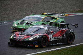 Veglia Crestani (Easy Race,Ferrari 488 Evo  GT3 PRO #3)Postiglione Mul (Imperiale Racing,Lamborghini Huracan GT3 Evo GT3 PRO #63), CAMPIONATO ITALIANO GRAN TURISMO
