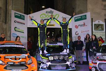 Cerimonia di premiazione 42 Rally Ciocco, CAMPIONATO ITALIANO RALLY