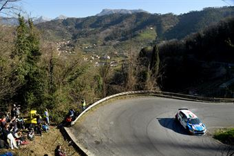 Stefano Albertini, Danilo Fappani (Skoda Fabia R5 #6, Mirabella Mille Miglia), CAMPIONATO ITALIANO RALLY