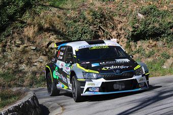 Giandomenico Basso, Lorenzo Granai (Skoda Fabia R5 #9, Freddy's Team), CAMPIONATO ITALIANO RALLY