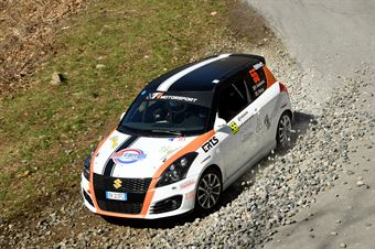 Daniele Campanaro, Irene Porcu (Suzuki Swift R1, Jolly Racing Team), CAMPIONATO ITALIANO RALLY