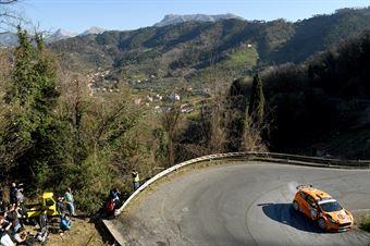 Simone Campedelli, Tania Canton (Ford Fiesta R5 #2, Project Team), CAMPIONATO ITALIANO RALLY