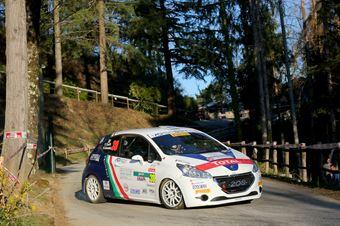 Tommaso Ciuffi, Nicolo Gonella (Peugeot 208 R2 #30, FPF Sport), CAMPIONATO ITALIANO RALLY