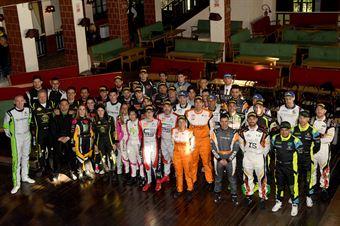 foto di gruppo equipaggi iscritti al Campionato Italiano Rally 2019, CAMPIONATO ITALIANO RALLY