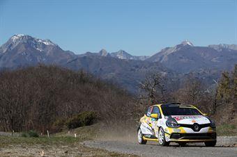 Ivan Ferrarotti, Manuel Fenoli (Renault Clio R3T #20, Best Racing Team), CAMPIONATO ITALIANO RALLY