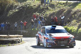 Kevin Gilardoni, Corrado Bonato (Hyundai i20 R5 #10, Movisport), CAMPIONATO ITALIANO RALLY