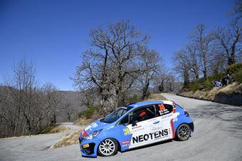 Michele Griso, Alessandro Lucato (Peugeot 208 R2 #38, MS Munaretto), CAMPIONATO ITALIANO RALLY