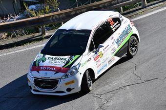 Cristopher Lucchesi Jr, Marco Pollicino (Peugeot 208 R2 #32, Asd Rally Revolution), CAMPIONATO ITALIANO RALLY