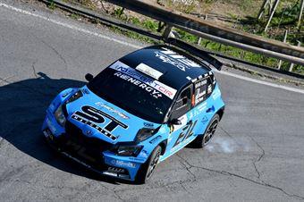 Rudy Michelini, Michele Perna (Skoda Fabia R5 #4, Movisport), CAMPIONATO ITALIANO RALLY