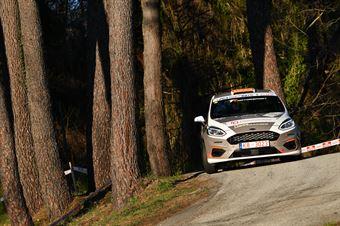 Luca Panzani, Francesco Pinelli (Ford Fiesta R2 #29, La Superba), CAMPIONATO ITALIANO RALLY