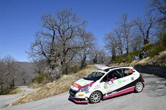 Patrizia Perosino, Veronica Verzoletto (Peugeot 208 R2 #39, Winners Rally Team), CAMPIONATO ITALIANO RALLY