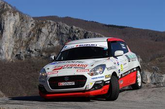 Fabio Poggio, Valentina Briano (Suzuki Swift R1B #59, Alma Racing), CAMPIONATO ITALIANO RALLY