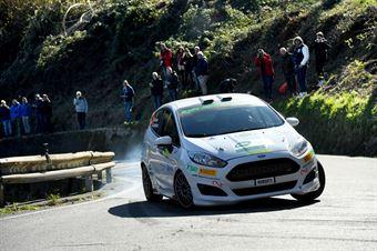 Marco Pollara, David Castiglioni (Ford Fiesta R2 #34, Cst Sport), CAMPIONATO ITALIANO RALLY