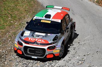 Luca Rossetti, Eleonora Mori (Citroen C3 R5 #7, FPF Sport), CAMPIONATO ITALIANO RALLY
