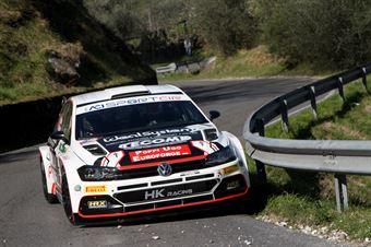 Antonio Rusce, Sauro Farnocchia (Volkswagen Polo R5 #5, XRaceSport), CAMPIONATO ITALIANO RALLY