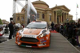 Simone Campedelli, Tania Canton (Ford Fiesta R5 #2, Orange1 Racig), CAMPIONATO ITALIANO RALLY SPARCO
