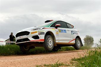 Marco Pollara, David Castiglioni (Ford Fiesta R2 #39, CST), CAMPIONATO ITALIANO RALLY SPARCO