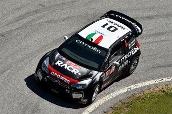 Luca Pedersoli, Anna Tomasi (Citroen DS3 WRC #3), CAMPIONATO ITALIANO RALLY SPARCO