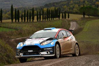 Andrea Aghini, Dario DEsposito (Ford Fiesta R5 #14, X Race Sport), CAMPIONATO ITALIANO RALLY SPARCO